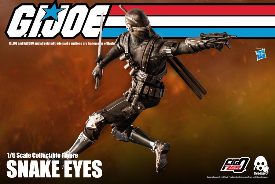 Threezero - G.I. Joe  Snake Eyes