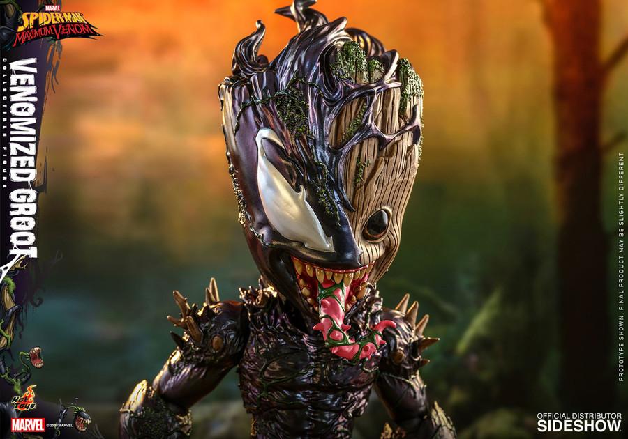 Hot Toys - Marvel's Spider-Man Maximum Venom - Venomized Groot