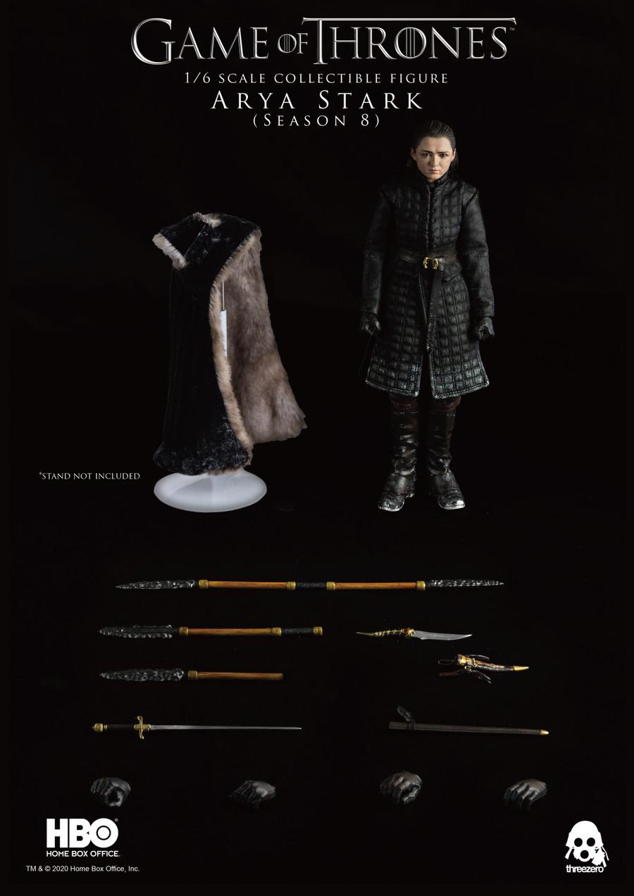 Threezero - Game of Thrones Arya Stark Season 8