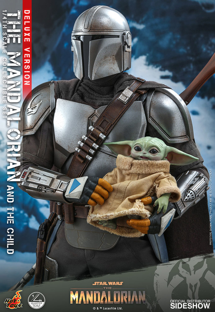 Hot Toys - Star Wars The Mandalorian - The Mandalorian and The Child (Deluxe)