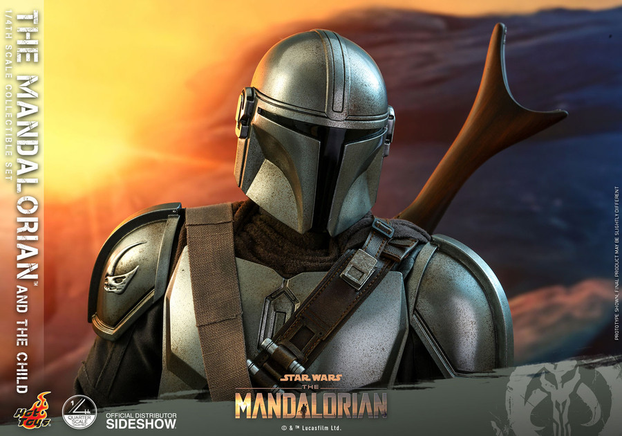 Hot Toys - Star Wars The Mandalorian - The Mandalorian and The Child