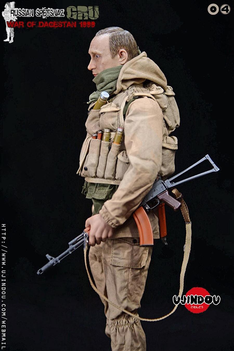 UJINDOU - Russian Spetsnaz GRU War Of Dagestan 1999