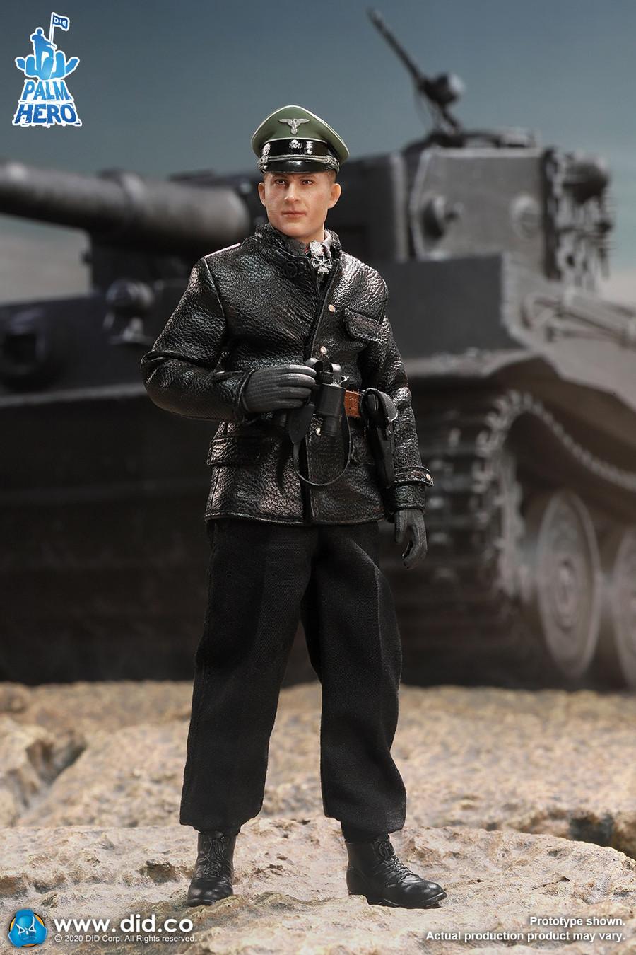 DID - 1/12 WWII German SS Hauptsturmführer - Michael Wittmann