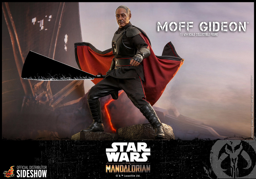 Hot Toys - Star Wars  The Mandalorian - Moff Gideon