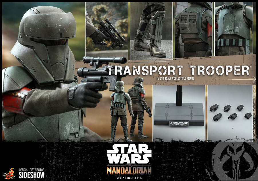 Hot Toys - Star Wars The Mandalorian - Transport Trooper