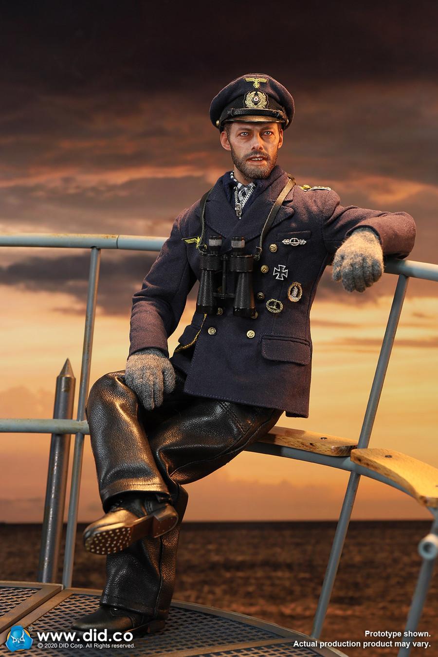 DID - WWII German U-Boat Stabsober Mechaniker Stabsbootsmann - Johann
