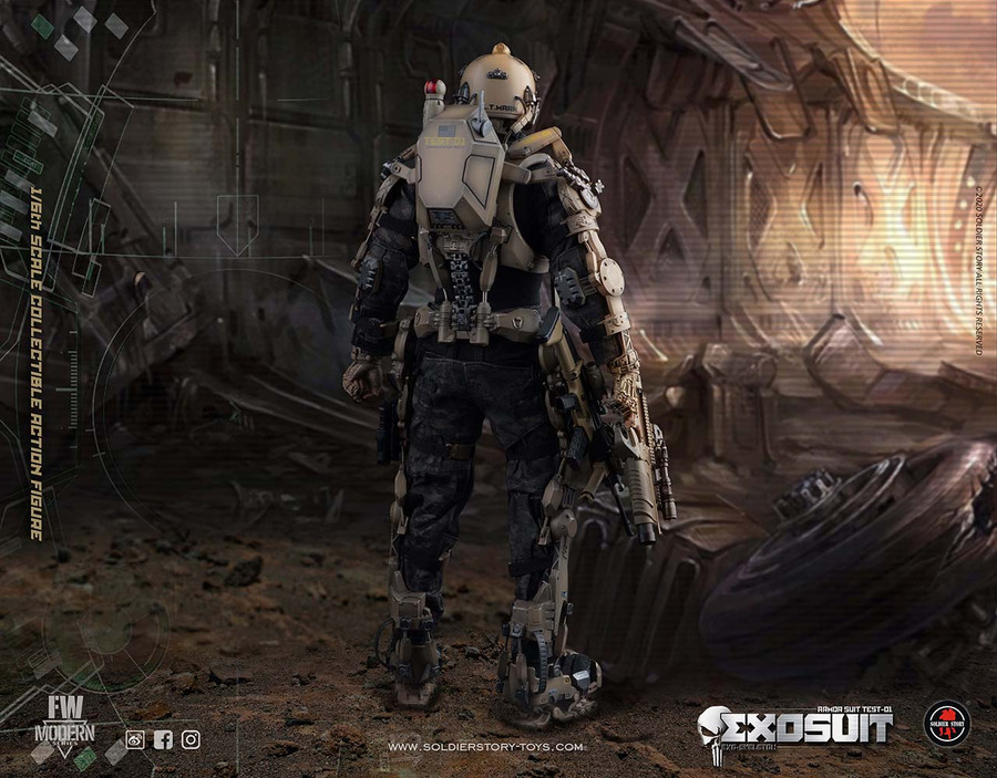 Soldier Story -  Exo Skeleton Armor Suit Test 01