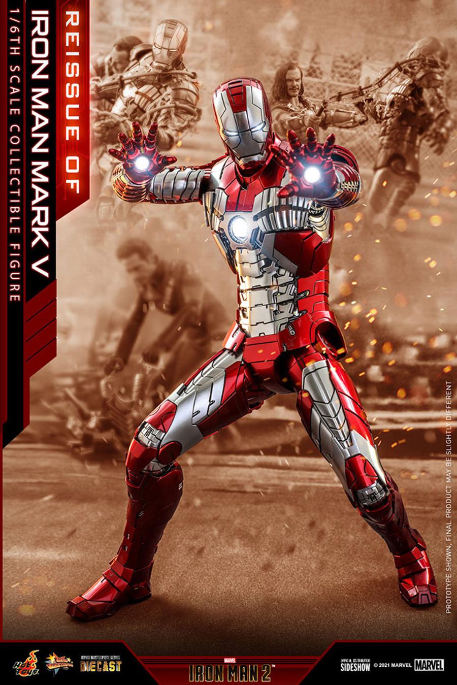 Hot Toys - Iron Man 2 - Iron Man Mark V