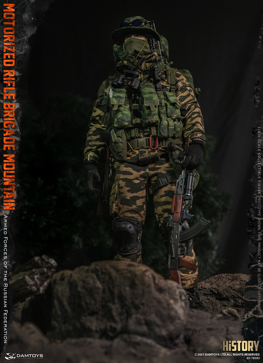 DAM Toys - Armed Forces of the Russian Federation Motorized Rifle Brigade Mountain