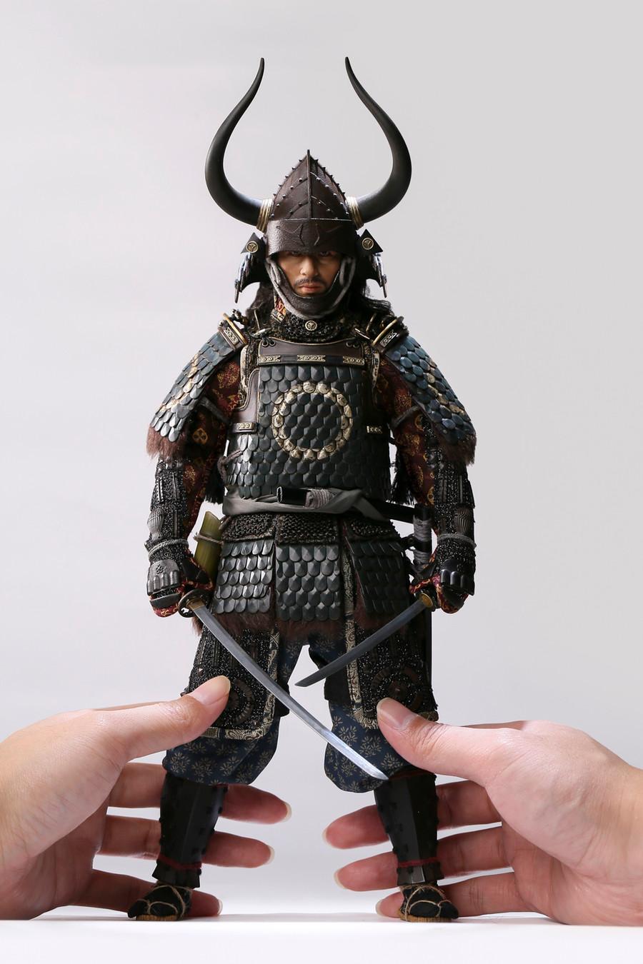 POP Toys - Brave Samurai UJIO Collector's Edition