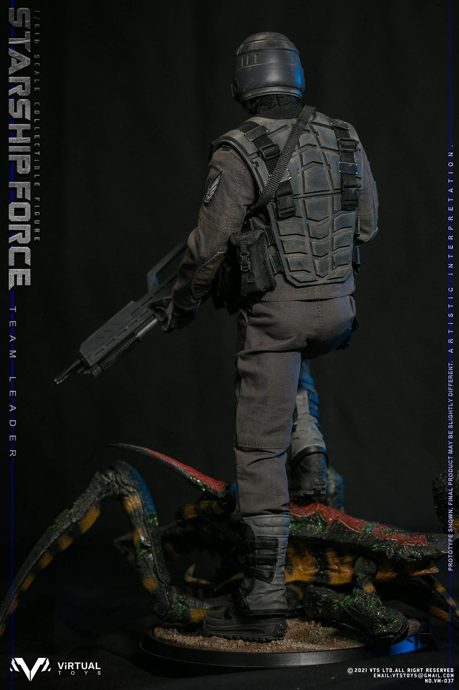 VTS Toys - Starship Force Team Leader Deluxe Version