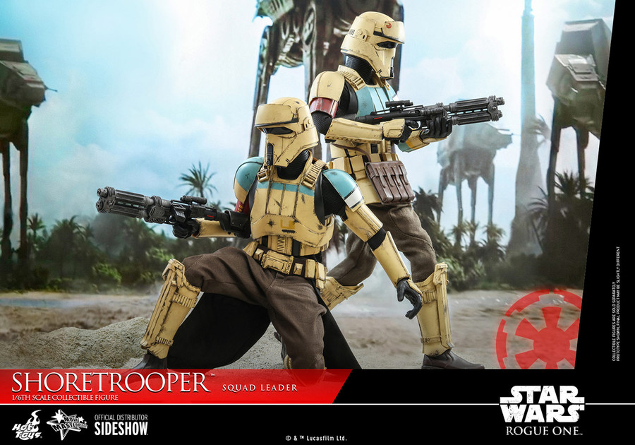 Hot Toys - Rogue One: A Star Wars Story - Shoretrooper Squad Leader