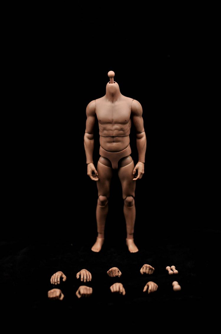 JX Toys - Strong Asian Male Muscular Body S01