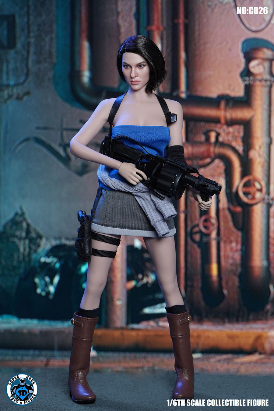 Super Duck - Female Police Tactical Unit in Shorts Accessory Set