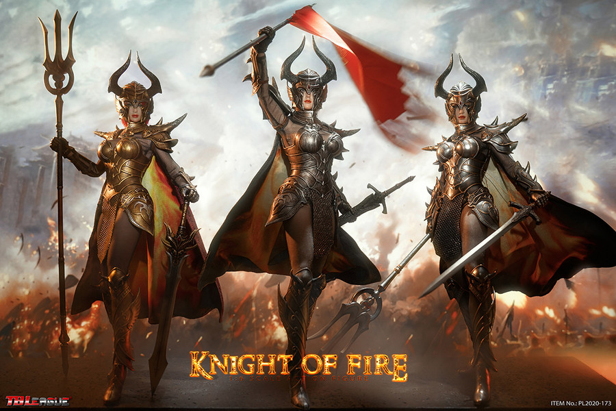 TBLeague - Knight of Fire - Black