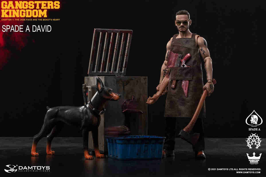 DAM Toys - Gangsters Kingdom Spade David