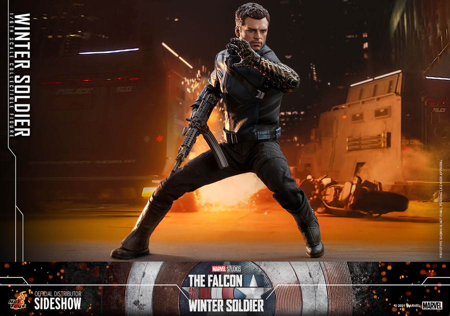 Hot Toys - The Falcon and The Winter Soldier - The Winter Soldier