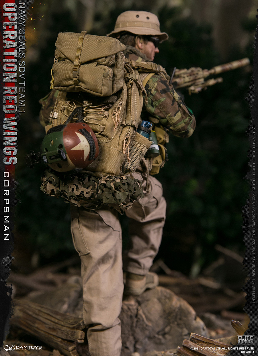 DAM Toys - Operation Red Wings - Navy Seals SDV Team 1 Corpsman