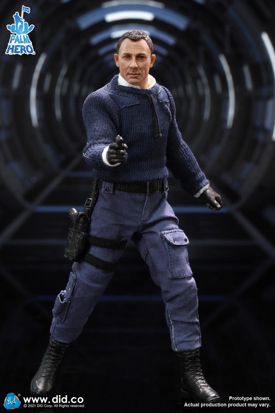 DID - 1/12 Palm Hero MI6 Agent Jack