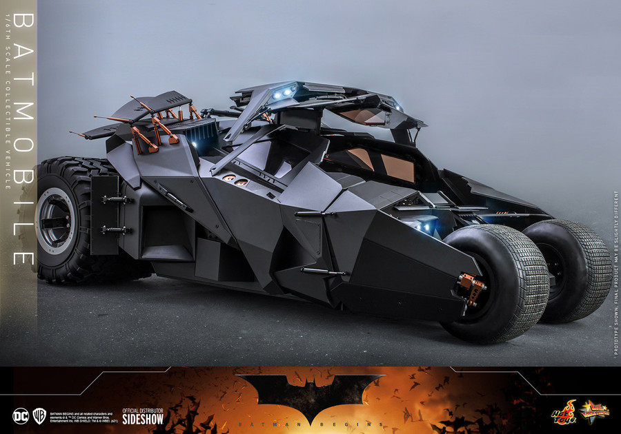 Hot Toys - Batman Begins - Batmobile Vehicle