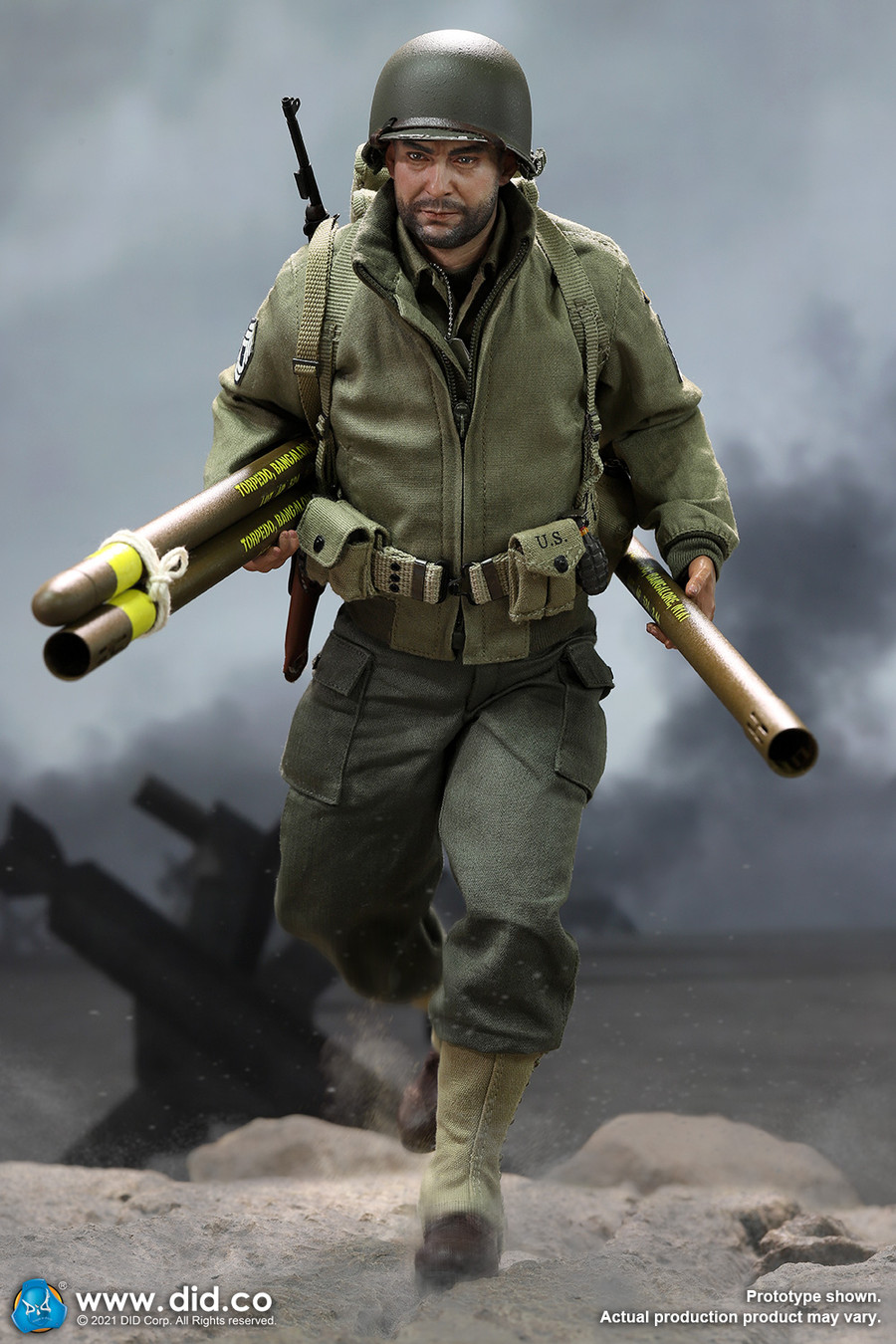 DID - WWII US 2nd Ranger Battalion Series 5 - Sergeant Horvath