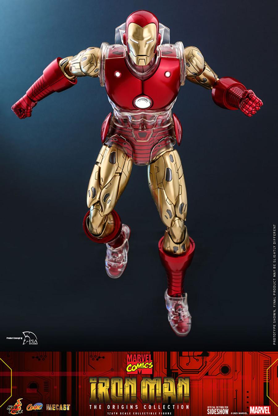 Hot Toys - Marvel Comics The Origin Collection: Iron Man