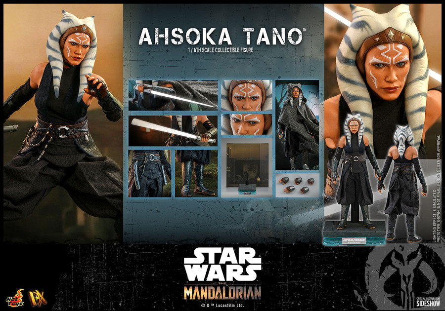 Hot Toys - Star Wars The Mandalorian - Ahsoka Tano
