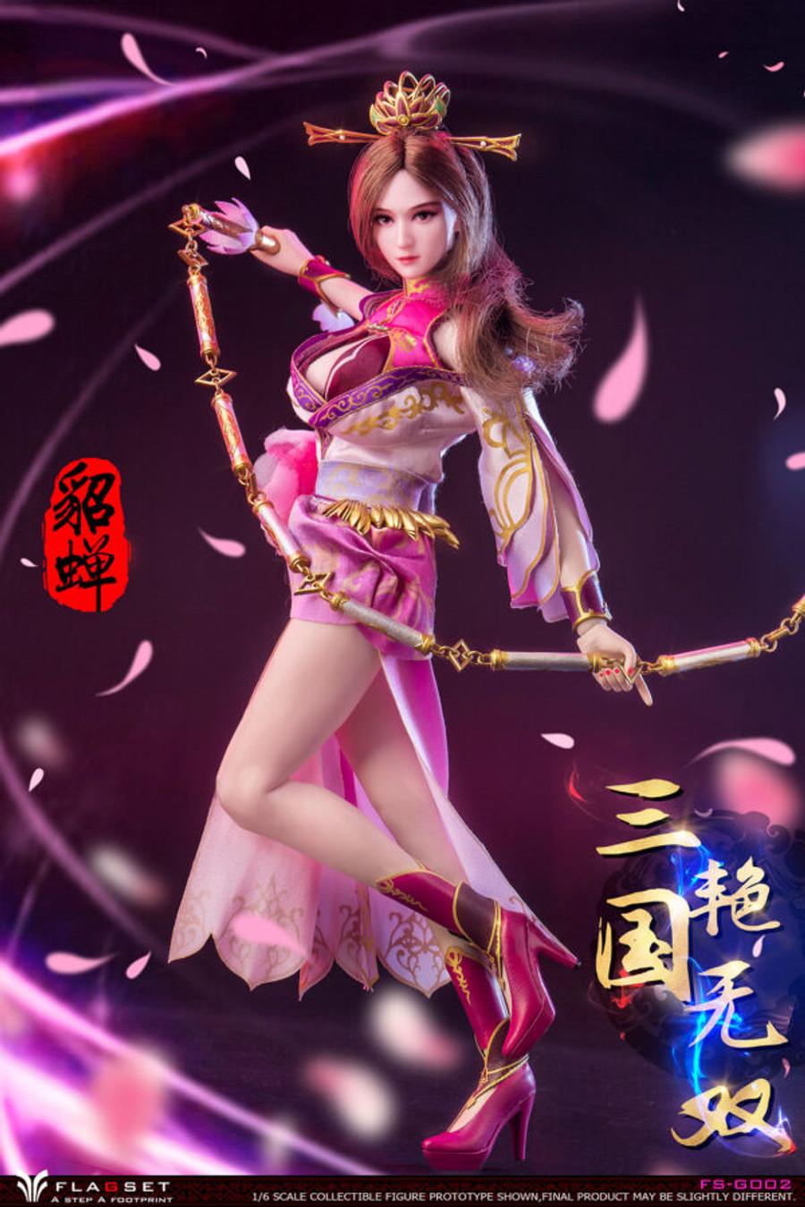Flagset - Romance of the Three Kingdoms: Diao Chan