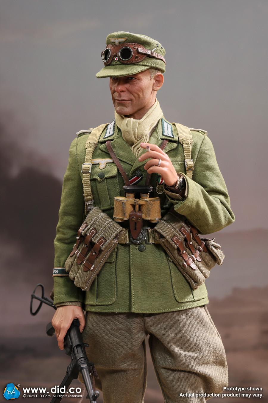 DID - WWII German Afrika Korps Infantry Captain – Wilhelm