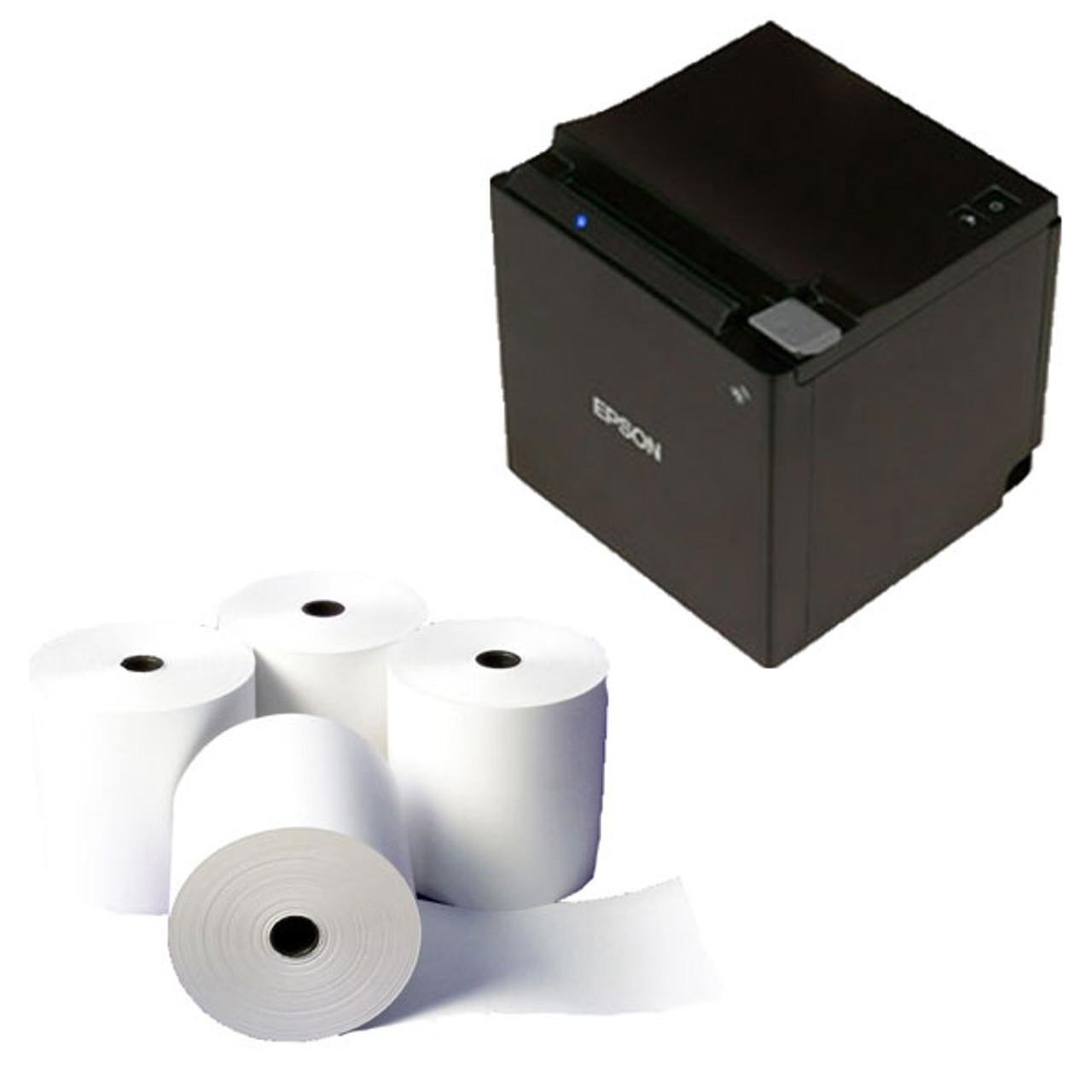 POS Bundle 5- Epson TM-M30 Printer + 80mmX80mm Receipt Rolls