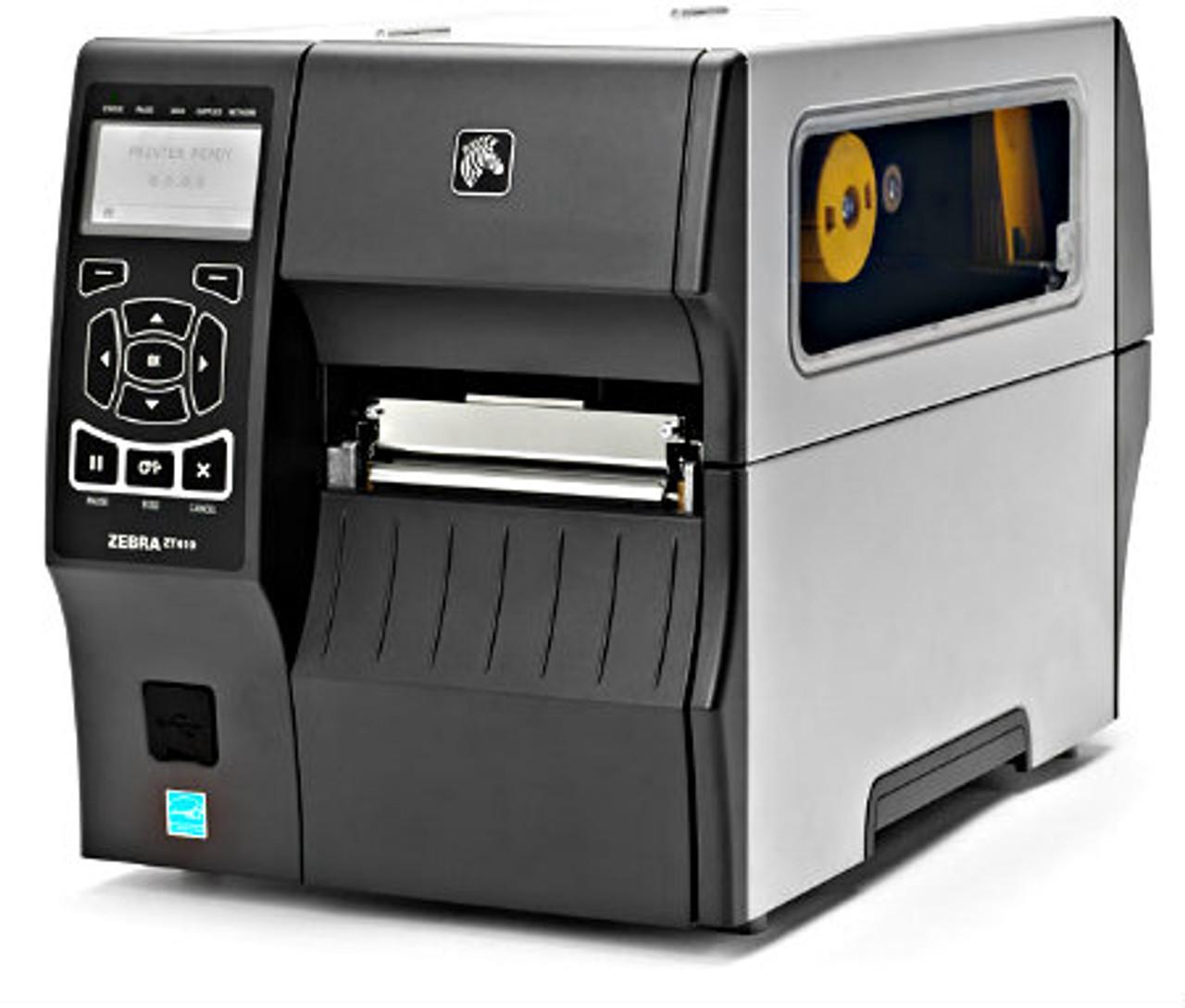 Zebra ZT410 203dpi TT Printer ETH/BT/USB/Serial and Internal Rewinder