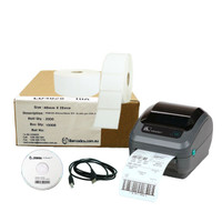Retail Printer Package-Zebra-ZD410, label software-Labels