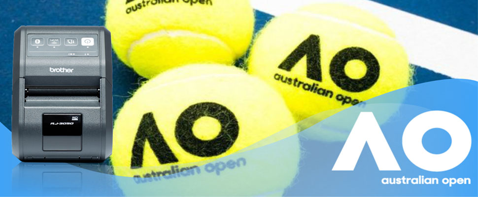 Barcodes.com.au helps improve efficiency at Australian Open