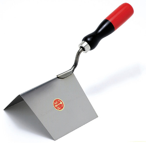 853/I External edge stainless steel trowel