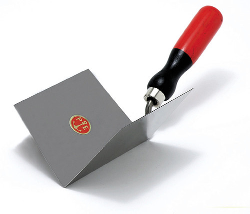 854/I Internal edge stainless steel trowel