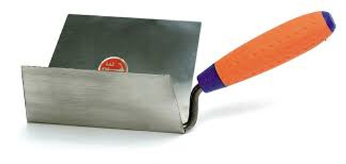 854/IS  Internal Edge Stainless Steel Trowel - 100x125mm