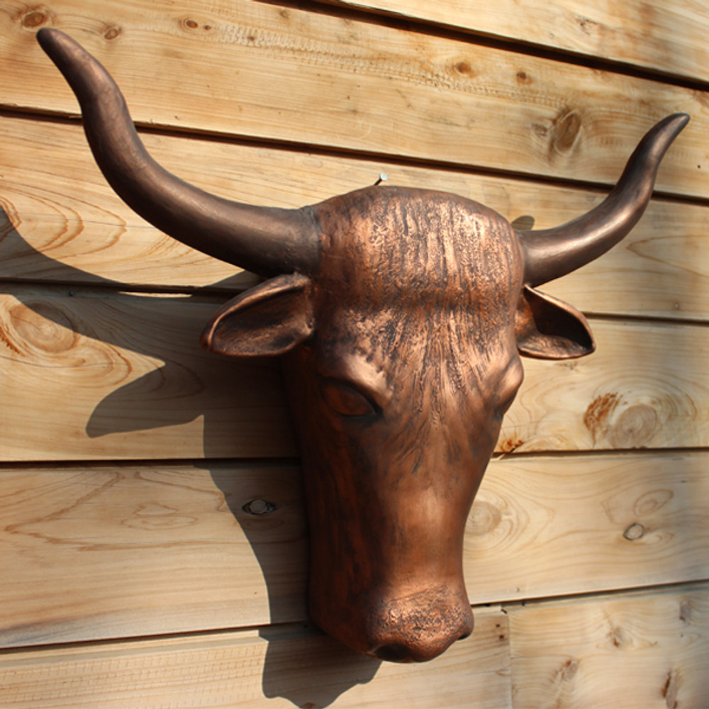 Wall Mounted Texas Longhorn Urn