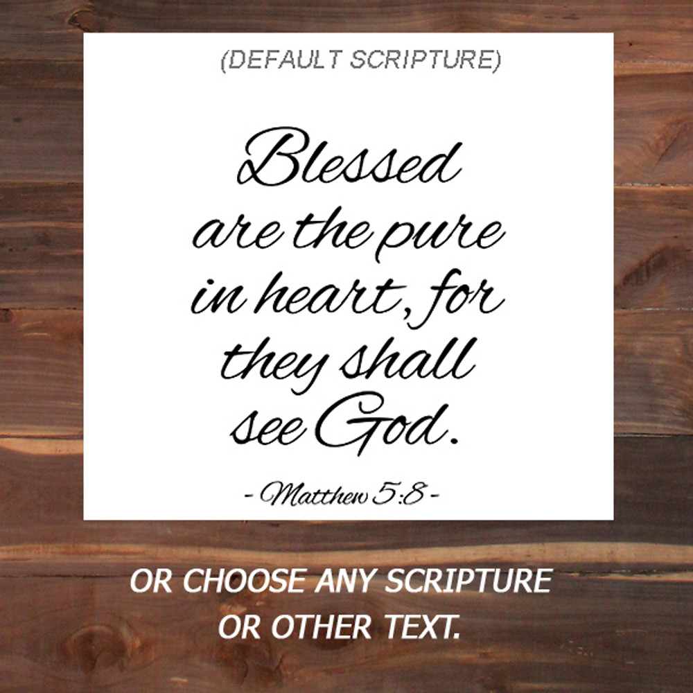 Choice of Scripture
