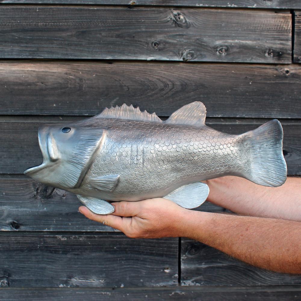 Wall-Mounted Bass Fish Urn
