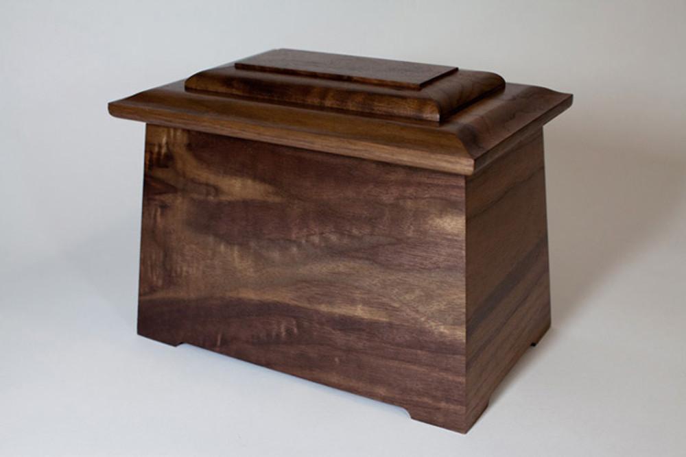 Mums cremation urn - back