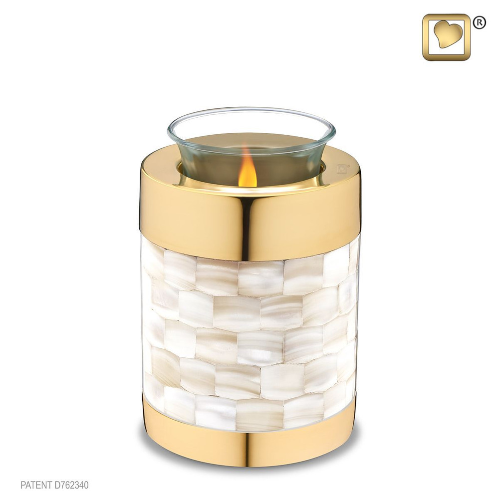 18 cubic inch Tealight Urn