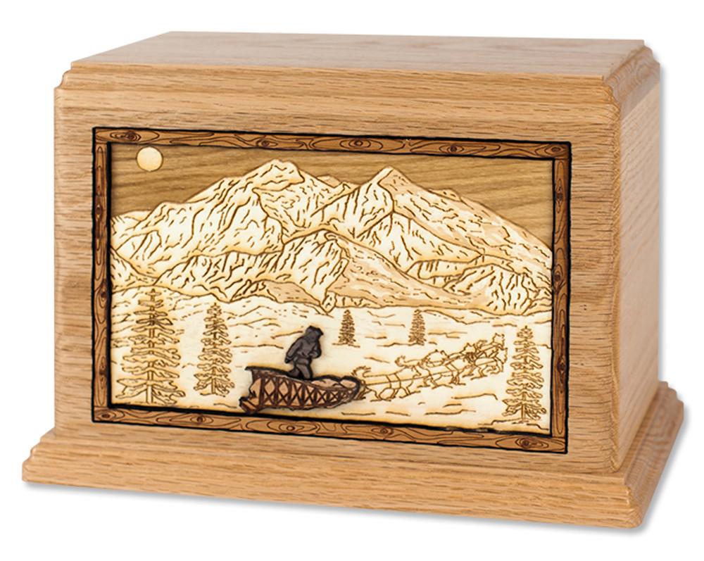 Alaskan Dogsled Cremation Urn