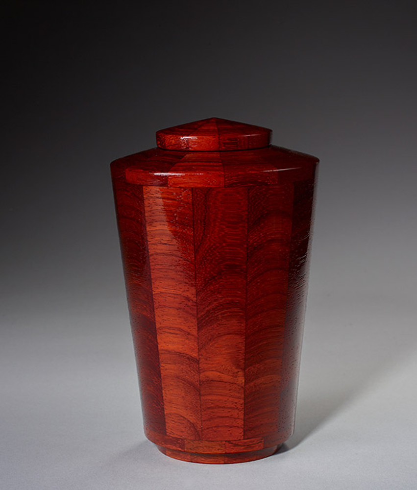 Small Size - Padauk Wood Urn