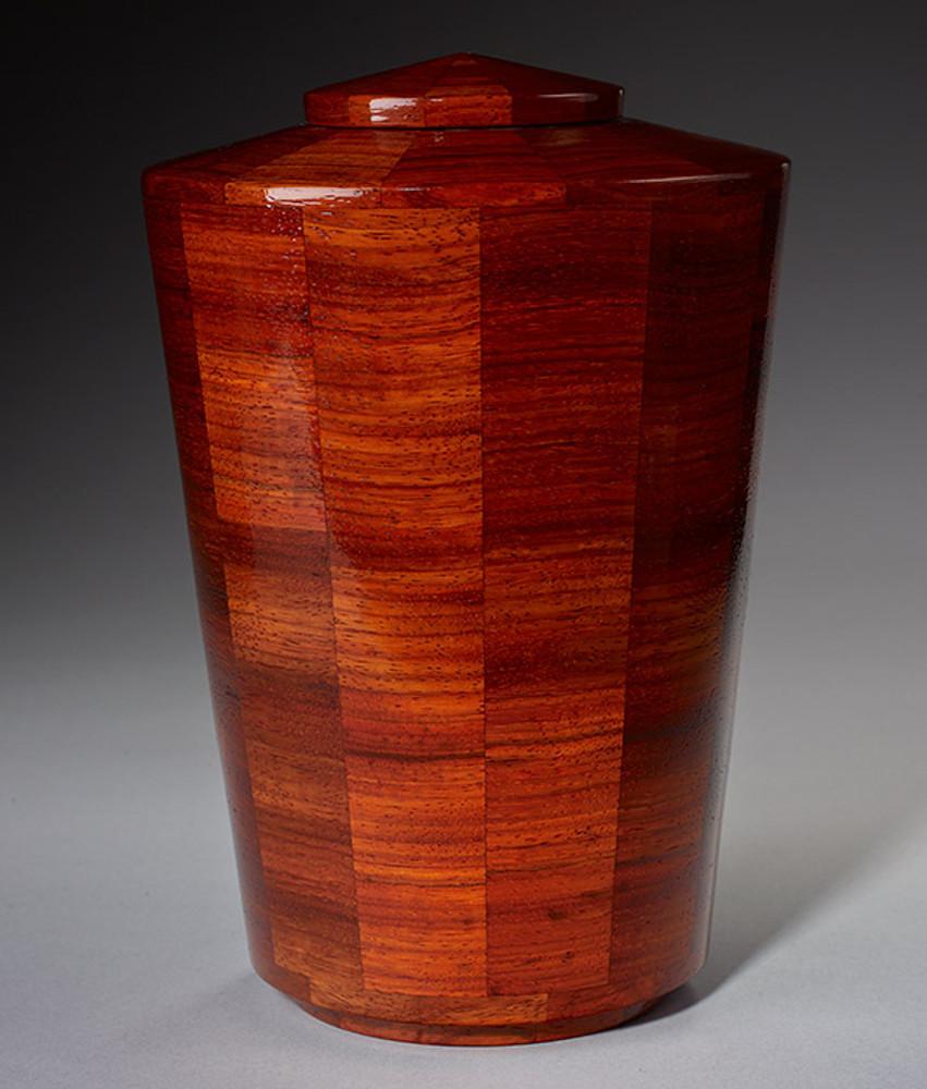 Standard (Large) Size - Padauk Wood Urn