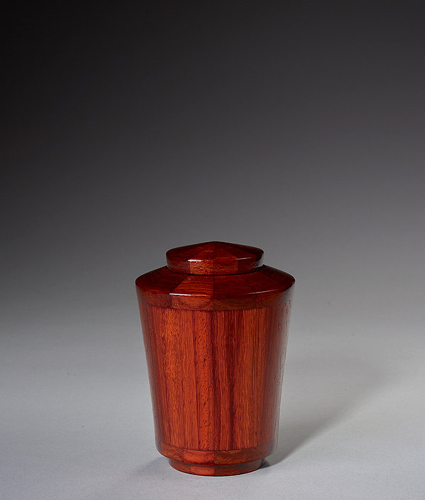 Keepsake Size - Padauk Wood Urn