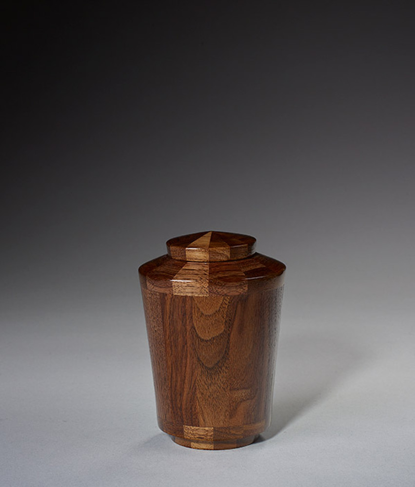 Keepsake Size - Walnut Cremation Urn