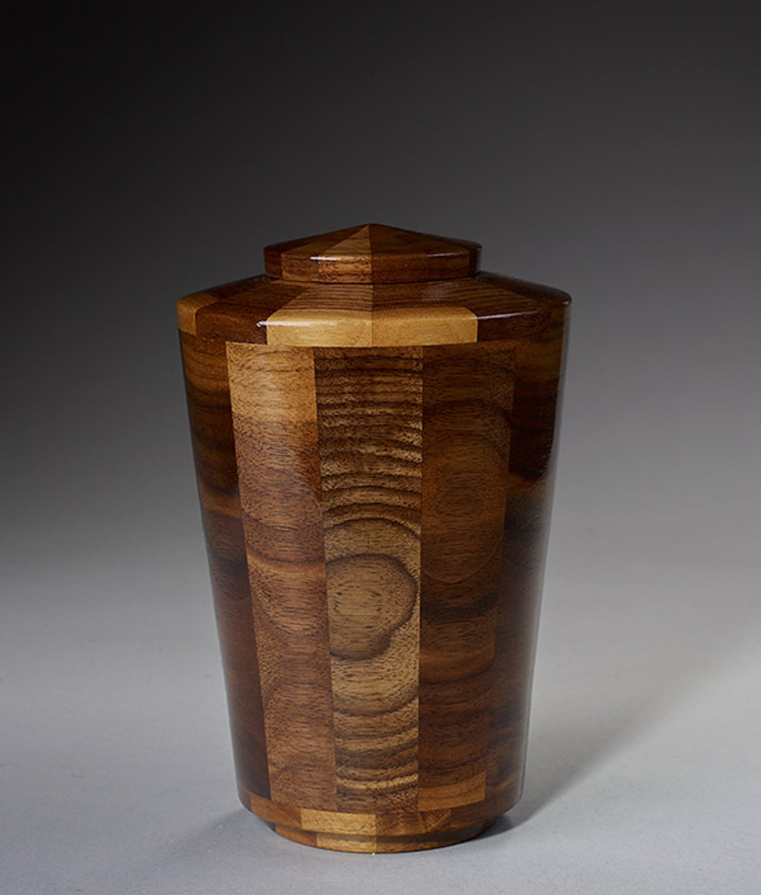 Small Size - Walnut Cremation Urn
