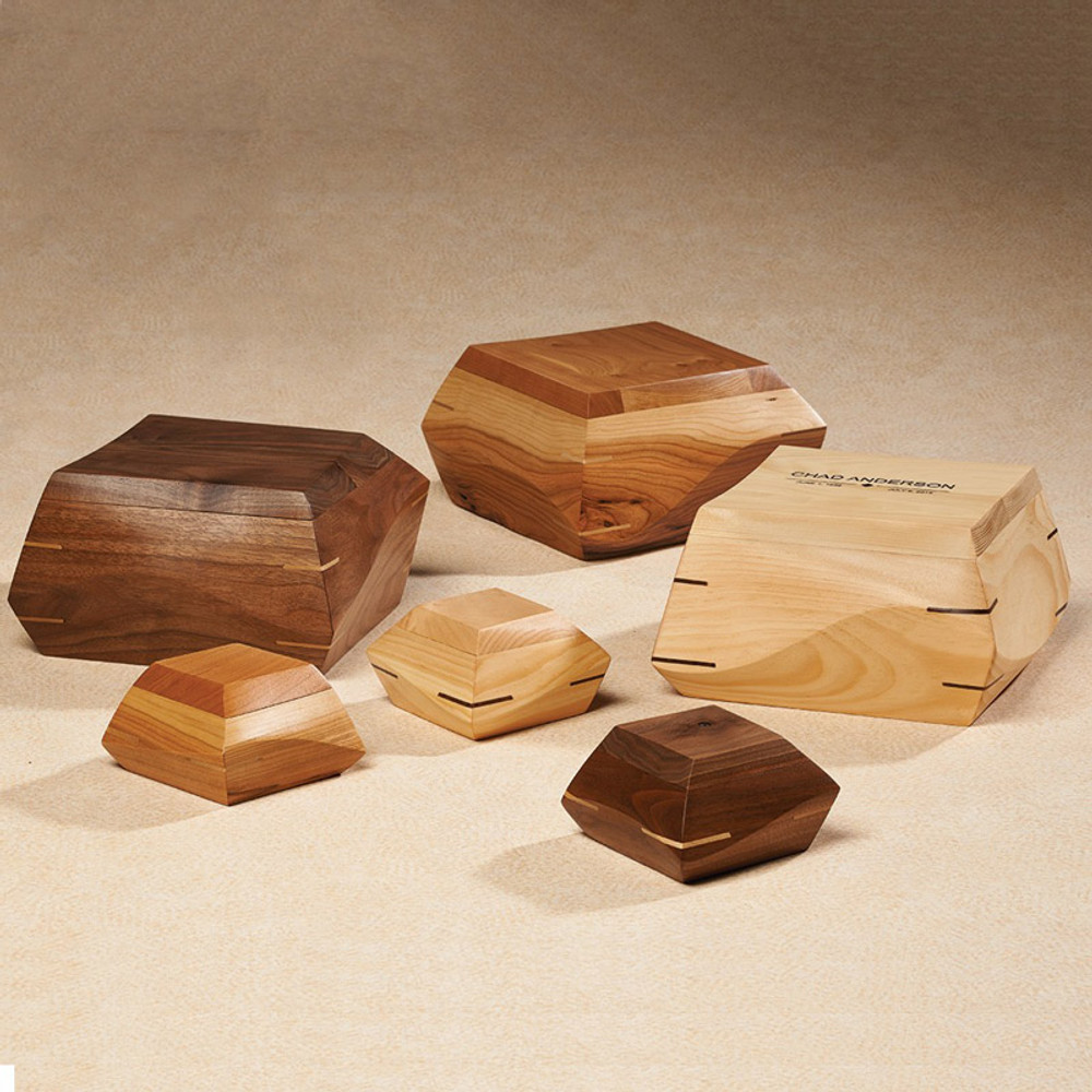 Available in Walnut, Pine, or Cherry wood