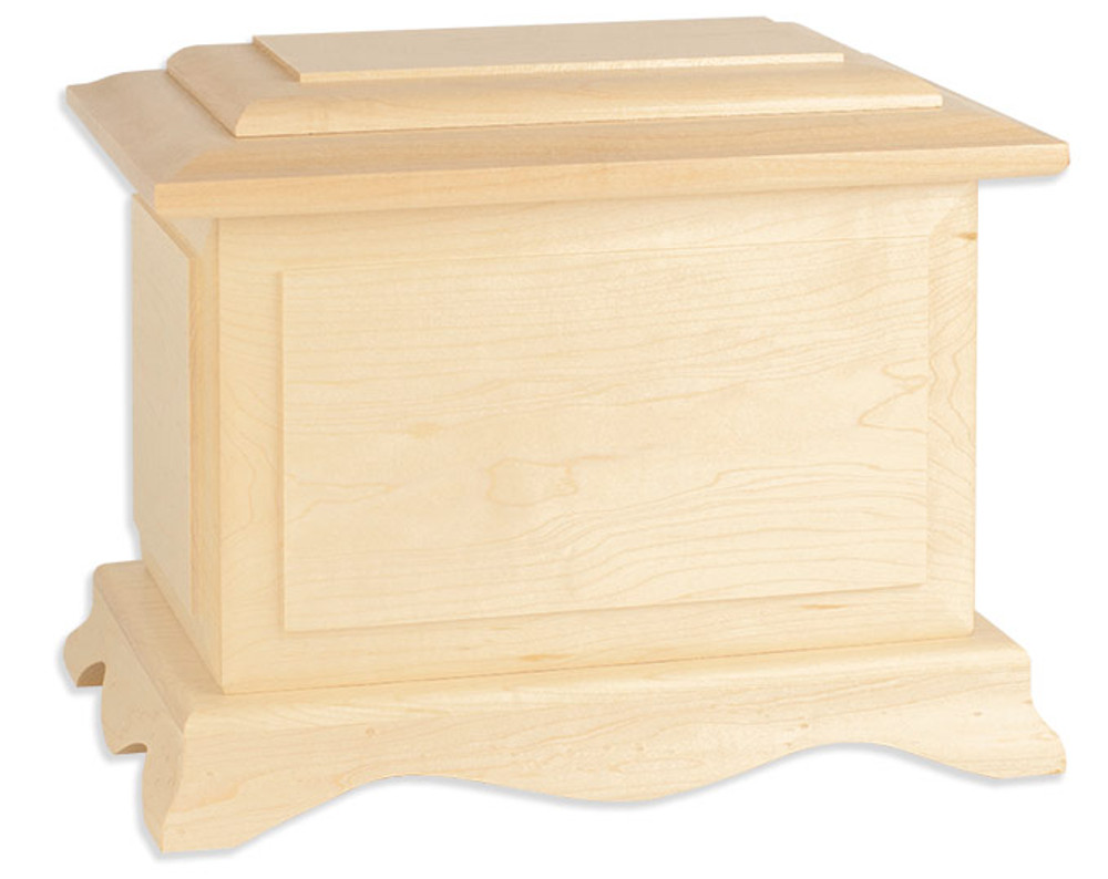 Cambridge Maple Wood Cremation Urn