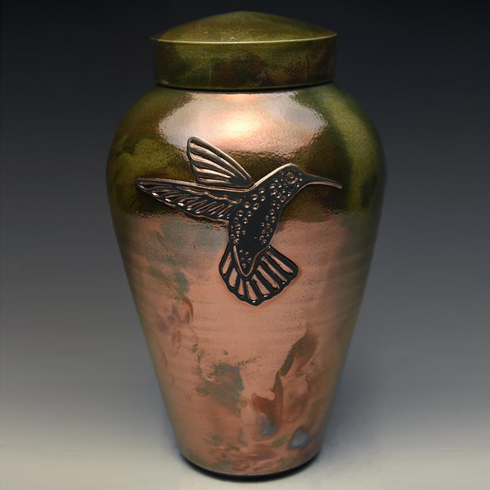 Hummingbird Cremation Urn (Every Urn is one of a kind)